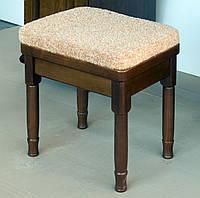 Пуфик для прихожей. Мебель для прихожей из дерева.
