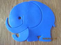 Мини-коврик Мамонтенок (Изменяет цвет в зависимости от температуры воды)