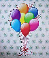 Шарики праздничные. Настенная декорация для детского сада., фото 1