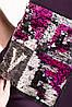 """Женское платье фиолетовое с нашивкой пайетки """"LOVE"""" размер 40-46, фото 5"""