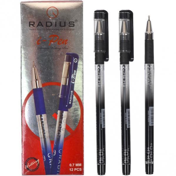 Ручка «I Pen» RADIUS с принтом 12 штук, черная 1 упаковка (12 штук)                500184ч