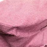 Ткань вельвет вискозный на хлопковой основе супер стрейч брусника цена за отрез., фото 2