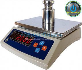 Весы настольные электронные с поверкой 6 кг ВТНЕ 6Н (Дозавтоматы)