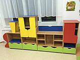 Стенка детская для игрушек Design Service Паровозик-2 (1149), фото 2