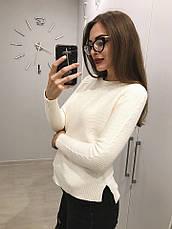 Женский свитер шерстяная вязка , фото 2