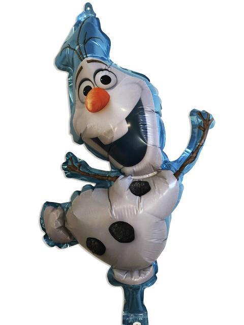 """Фольгированный шар - фигура """"Олаф"""" Холодное сердце 54*29 см"""