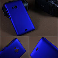 Чехол накладка бампер для Microsoft Lumia 535 синий, фото 1
