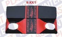 Полка задняя под динамики ВАЗ-2108-09 красная (ИнтерПласт)