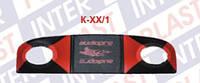 Полка задняя под динамики ВАЗ-2110 красная, (Б.Ц. Автокомфорт)