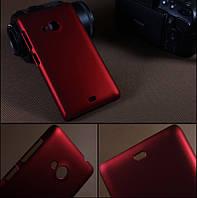Чехол накладка бампер для Microsoft Lumia 535 бордовый, фото 1