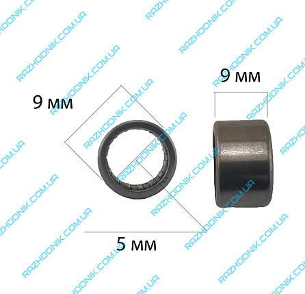 Игольчатый подшипник 5x9x9 (HK 0509) , фото 2