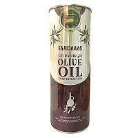 Масло оливковое Olio Extra Virgin 1л ЕЛАИОЛАDО (бордовая) ж / б (1/6)