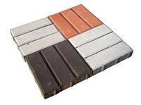 Плитка тротуарная Брусок 4 см