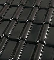 Черепица керамическая ROBEN MONZA plus (Монза плюс) Глазурь черно-коричневая, фото 1