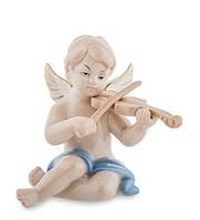 """Фарфоровая фигурка """"Ангелочек, музыкант"""" (Pavone) JP-14/ 8. Пасхальные сувениры"""