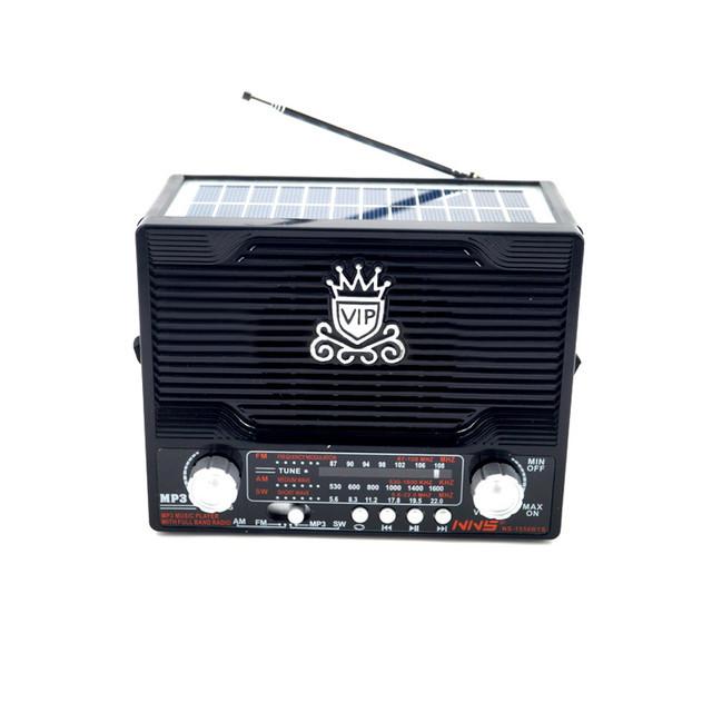 🔥✅ Радиоприёмник NNS NS-1556S FM Радио с солнечной батареей