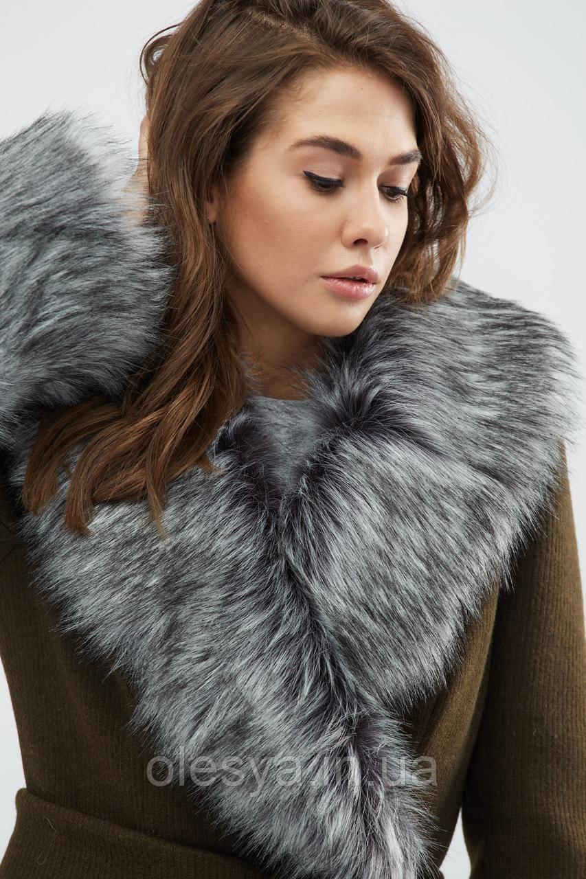 Зимнее пальто LS-8758-1, (Хаки)