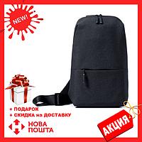 b1b6ea409b48 Сумка XIAOMI через плечо mini   Мини рюкзак Xiaomi Urban Backpack с одной  лямкой черный