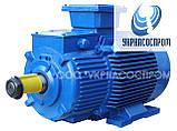 Крановый электродвигатель МТK 132LA-6 5,5 кВт 900 об/мин, фото 3