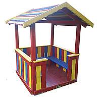 Домик-беседка игровой комплекс Башня маленькая