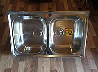 Кухонная мойка двойная TEKA UNIVERSO 2B 79 10120009 полированная СКЛАД