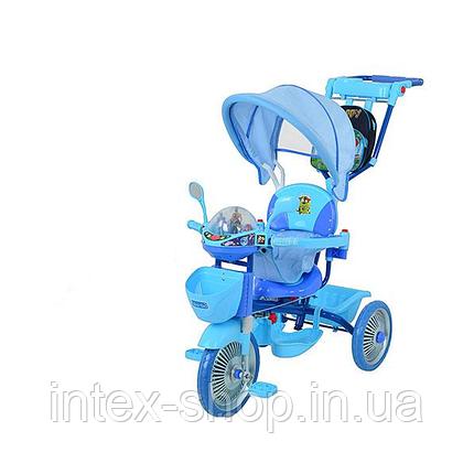Трехколесный велосипед Profi Trike ET A18-9-1 Синий, фото 2