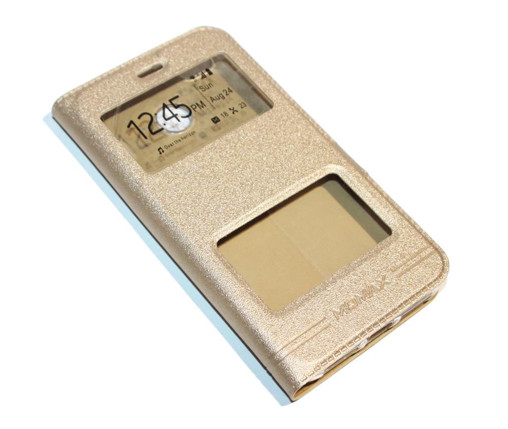 Чехол книжка Momax для Sony XperiaZ5(E6633) Золото