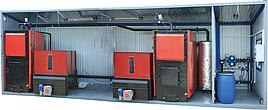 Теплогенератор модульный на щепе, тырсе мощностью от 100 кВт до 10 МВт (механизированная загрузка)