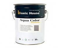 Краска для дерева Bionic-House Aqua Color UV-protect 10л Пепел А117