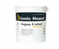 Краска для дерева Bionic-House Aqua Color UV-protect 2,5л Безцветный
