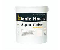 Краска для дерева Bionic-House Aqua Color UV-protect 2,5л Белый А101