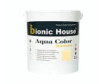Краска для дерева Bionic-House Aqua Color UV-protect 2,5л Слоновая кость А102