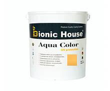 Краска для дерева Bionic-House Aqua Color UV-protect 2,5л Светлый дуб А126