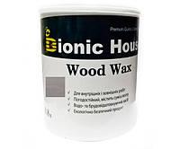 Краска для дерева WOOD WAX Bionic-House 0,8л Пепел А117