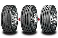 Подбор шин на грузовые автомобили, автобусы и прицепы