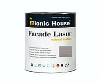 Краска для дерева FACADE LASUR Bionic-House 2,8л Пепел А117