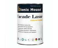 Краска для дерева FACADE LASUR Bionic-House 1л Безцветный