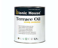Масло для терасс Bionic-House 2,8л Безцветный