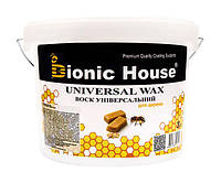 Воск для дерева универсальный Bionic-House 3л Безцветный