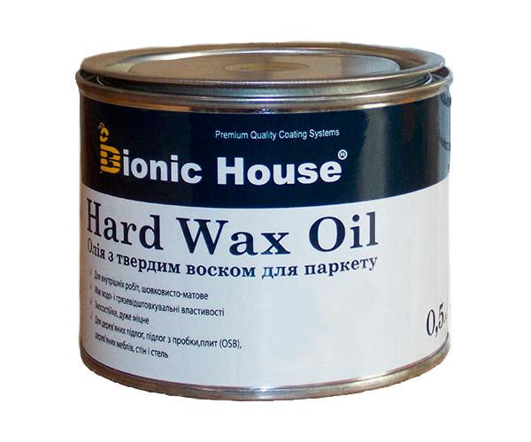 Масло для пола с твердым воском Bionic-House 0,5л Безцветный 10