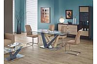 Стеклянный стол Halmar Geronimo