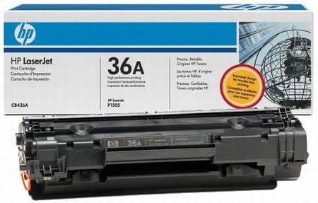 Заправка картриджа CB436A