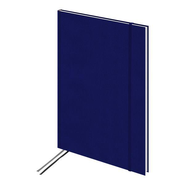 Книга записная А4 Brunnen Melissa, клетка, синяя