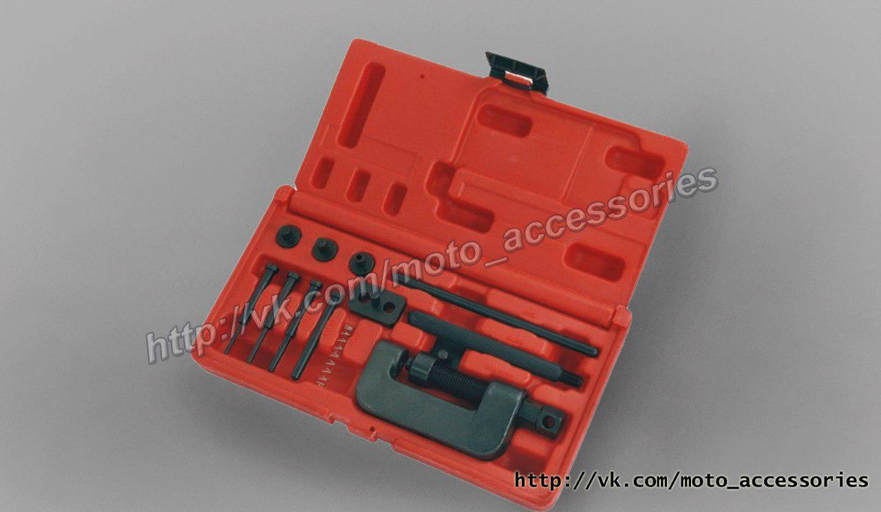 Инструмент для расклёпки / заклёпки цепи мотоцикла