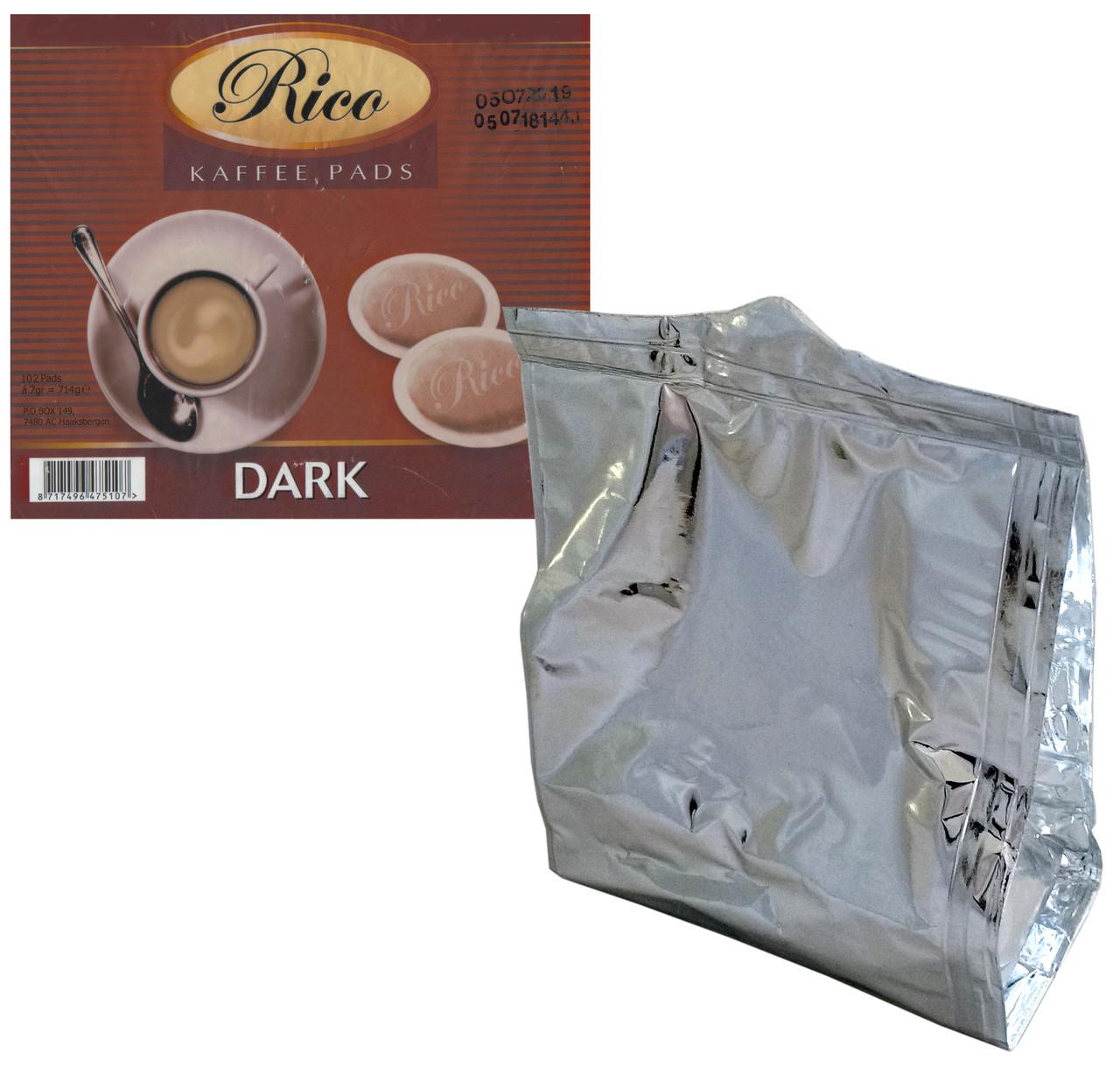 Кофе в чалдах для Philips Senseo 17 шт Rico Dark