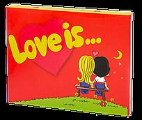 Шоколадный набор  «Love is..» Shokopack, 12 плиточек молочного шоколада