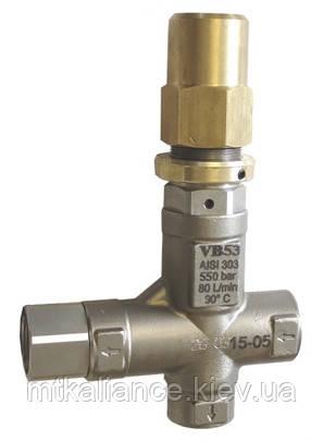Байпас ( перепускний клапан ) VB 53 регулятор тиску до АВД 500 бар