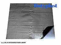 Виброизоляция Butyplast Ф-3 м,  3 мм 350х500мм, 100 мкм