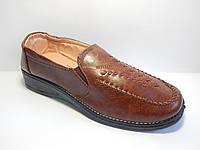 Женские туфли. 36-42 р.  903 коричневый.
