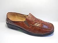 Женские туфли.36-42 р.М-98 коричневый.
